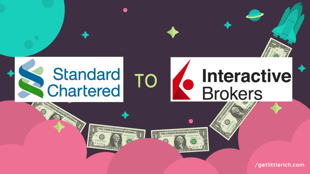 Transfer USD to Interactive Brokers Singapore