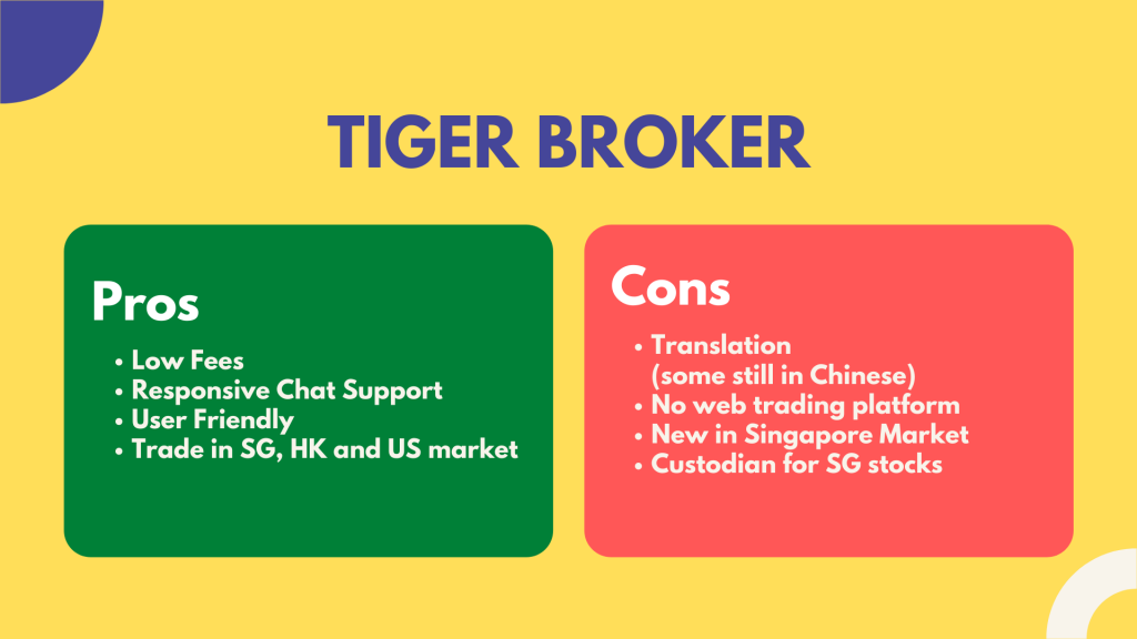 Tiger Broker Review Singapore 2020
